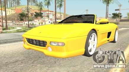 Ferrari F355 Spider para GTA San Andreas