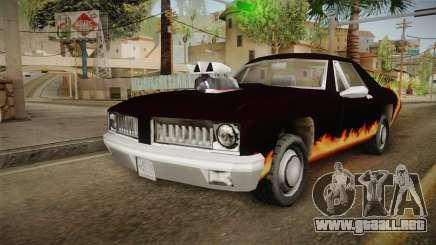 GTA SA DLC - Diablo Stallion para GTA San Andreas