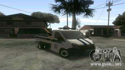 La gacela de la Siguiente Remolque DPS para GTA San Andreas