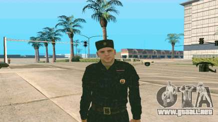 Senior Sargento de la Policía de v. 1 para GTA San Andreas