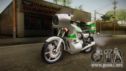 New Police Bike v2 para GTA San Andreas