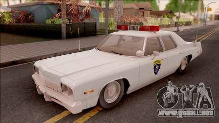 Dodge Monaco Montana Highway Patrol v2 para GTA San Andreas