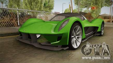 GTA 5 Dewbauchee Vagner IVF para GTA San Andreas