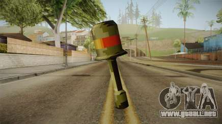 Metal Slug Weapon 14 para GTA San Andreas