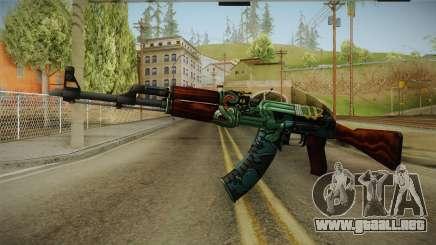 CS: GO AK-47 Fire Serpent Skin para GTA San Andreas