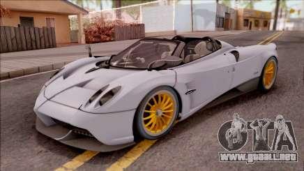 Pagani Huayra Roadster 2017 para GTA San Andreas
