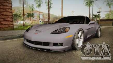 Chevrolet Corvette C6 Z06 para GTA San Andreas