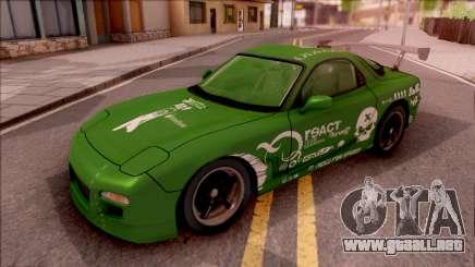 Mazda RX-7 NFS Undercover Vinyl para GTA San Andreas