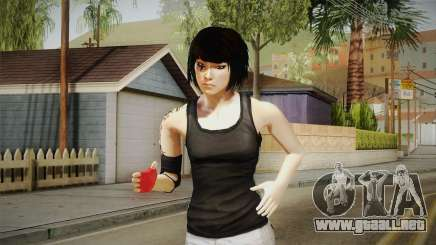 Mirror Edge Faith 2015 para GTA San Andreas