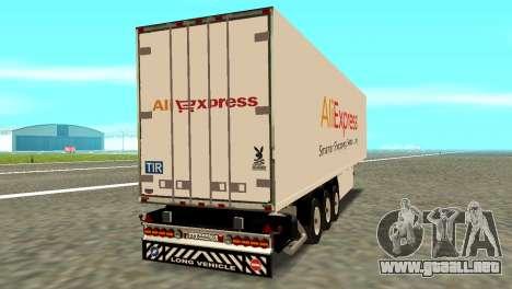 Remolque Aliexpress para GTA San Andreas left