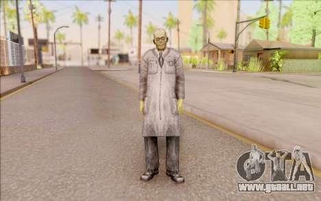Zombie científico de S. T. A. L. K. E. R. para GTA San Andreas segunda pantalla