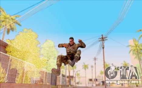 Zombie Degtyarev de S. T. A. L. K. E. R. para GTA San Andreas sexta pantalla