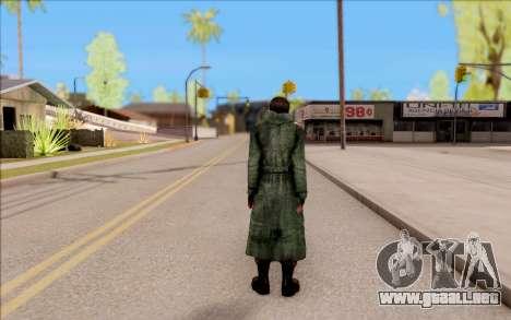 El macho de S. T. A. L. K. E. R. para GTA San Andreas sucesivamente de pantalla
