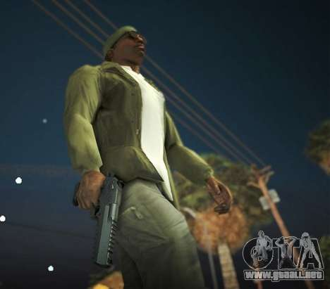 Black Edition Weapon Pack para GTA San Andreas sexta pantalla