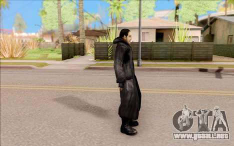 El capitán de Sobolev de S. T. A. L. K. E. R. para GTA San Andreas tercera pantalla