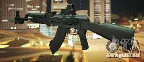 Black Edition Weapon Pack para GTA San Andreas