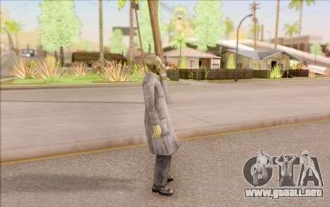 Zombie científico de S. T. A. L. K. E. R. para GTA San Andreas tercera pantalla