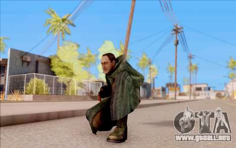 El macho de S. T. A. L. K. E. R. para GTA San Andreas sexta pantalla