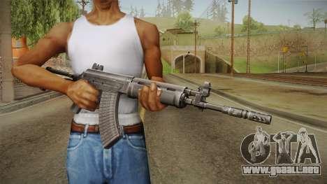 Sako 95 Assault Rifle para GTA San Andreas tercera pantalla