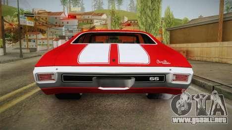 Chevrolet Chevelle SS 1970 vv1 para GTA San Andreas