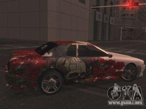 New Elegy Paintjob para GTA San Andreas left