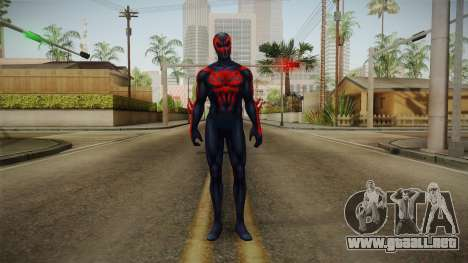 Marvel Future Fight - Spider-Man 2099 v2 para GTA San Andreas segunda pantalla