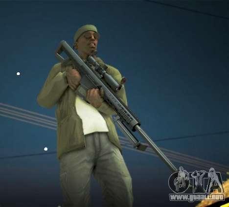 Black Edition Weapon Pack para GTA San Andreas séptima pantalla