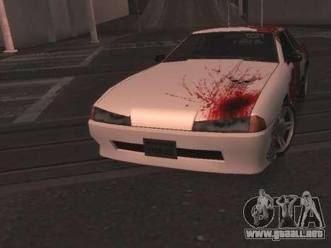 New Elegy Paintjob para GTA San Andreas vista posterior izquierda