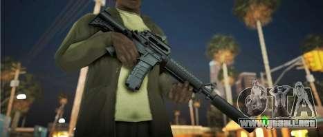 Black Edition Weapon Pack para GTA San Andreas quinta pantalla