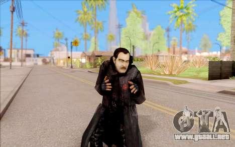 El capitán de Sobolev de S. T. A. L. K. E. R. para GTA San Andreas quinta pantalla