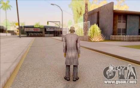 Zombie científico de S. T. A. L. K. E. R. para GTA San Andreas sucesivamente de pantalla