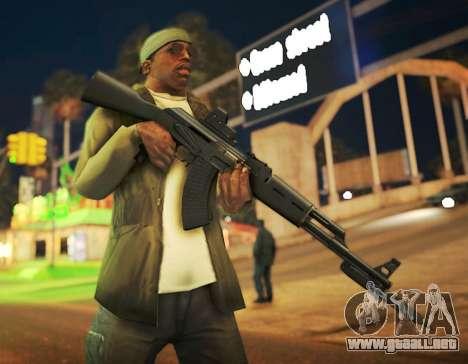 Black Edition Weapon Pack para GTA San Andreas segunda pantalla