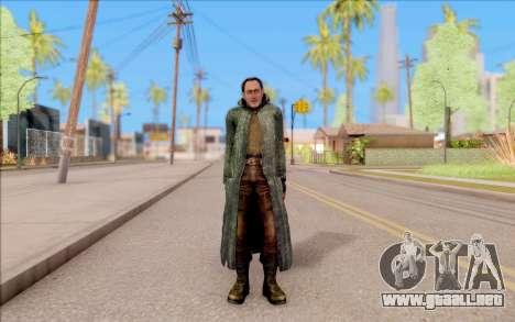 El macho de S. T. A. L. K. E. R. para GTA San Andreas segunda pantalla
