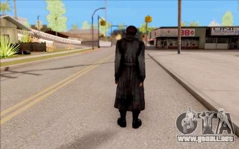El capitán de Sobolev de S. T. A. L. K. E. R. para GTA San Andreas sucesivamente de pantalla