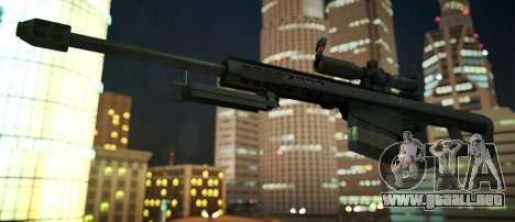 Black Edition Weapon Pack para GTA San Andreas octavo de pantalla