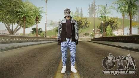 Skin Random 3 (Outfit Import Export) para GTA San Andreas segunda pantalla