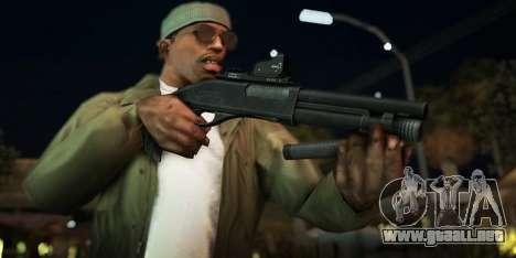 Black Edition Weapon Pack para GTA San Andreas novena de pantalla