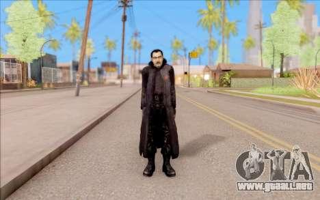 El capitán de Sobolev de S. T. A. L. K. E. R. para GTA San Andreas