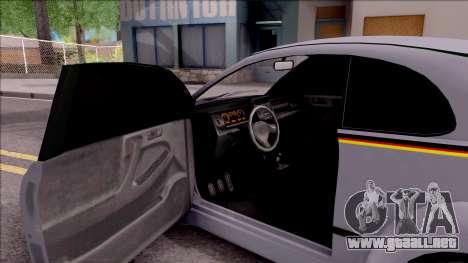 Fiat 500 Abarth para visión interna GTA San Andreas