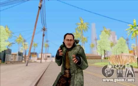 El macho de S. T. A. L. K. E. R. para GTA San Andreas