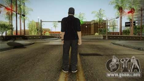 GTA 5 Online Smuggler DLC Skin 1 para GTA San Andreas tercera pantalla