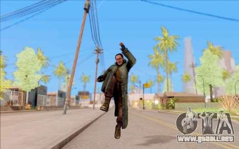El macho de S. T. A. L. K. E. R. para GTA San Andreas quinta pantalla