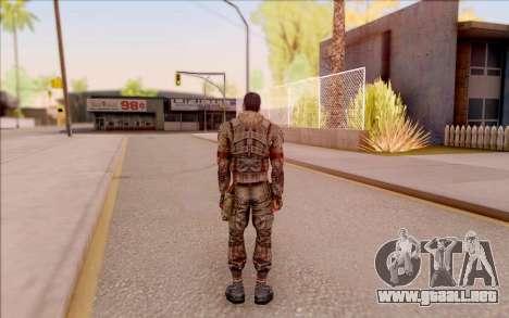 Zombie Degtyarev de S. T. A. L. K. E. R. para GTA San Andreas sucesivamente de pantalla