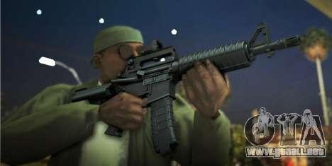Black Edition Weapon Pack para GTA San Andreas tercera pantalla