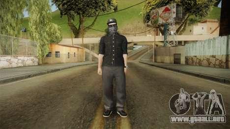 GTA 5 Online Smuggler DLC Skin 1 para GTA San Andreas segunda pantalla