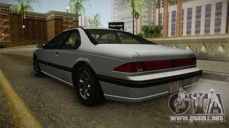 GTA 4 - Vapid Fortune para la visión correcta GTA San Andreas