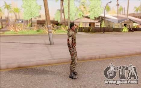 Zombie Degtyarev de S. T. A. L. K. E. R. para GTA San Andreas tercera pantalla