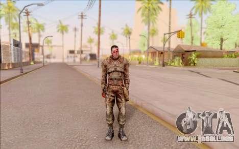 Zombie Degtyarev de S. T. A. L. K. E. R. para GTA San Andreas segunda pantalla