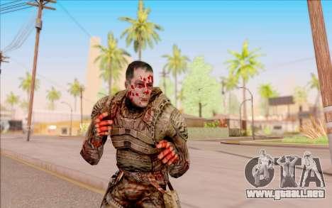 Zombie Degtyarev de S. T. A. L. K. E. R. para GTA San Andreas