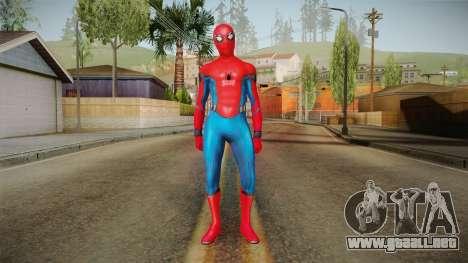 Spider-Man Homecoming - Spider-Man para GTA San Andreas segunda pantalla